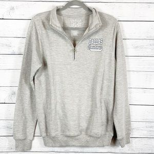 Tops - NWT Dallas Cowboys Half Zip Pullover Sweatshirt